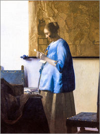 Jan Vermeer - Die Briefleserin