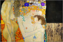 Gustav Klimt - The Three Ages of Woman (Detail)
