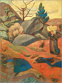 Paul Sérusier - Die Felsen in Huelgoat