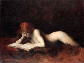 Jean-Jacques Henner - Die Lesende
