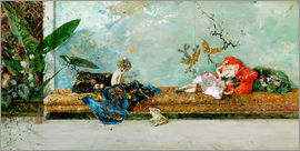 Mariano Fortuny y Marsal - The Painter's Children in the Japanese Salon