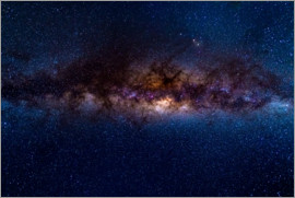 Fabio Lamanna - The Milky Way galaxy, details of the colorful core.