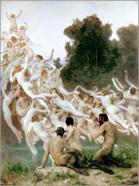 William Adolphe Bouguereau - Die Oreaden