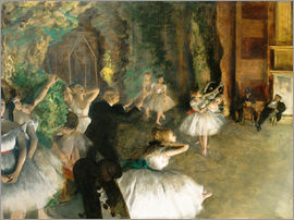 Edgar Degas - Die Probe des Balletts Onstage