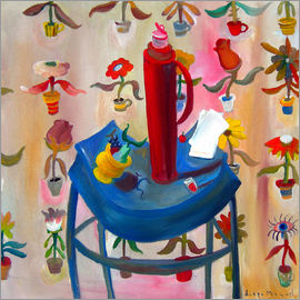 Diego Manuel Rodriguez - The red thermos