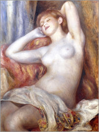 Pierre-Auguste Renoir - Sleeping woman