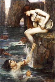 John William Waterhouse - Die Sirene