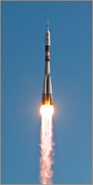 Stocktrek Images - The Soyuz TMA-18 rocket