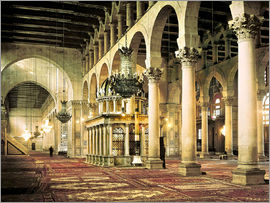 The Umayyad Mosque in Damascus