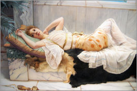 John William Godward - Die Verlobte