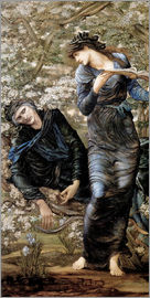 Edward Burne-Jones - Die Verzauberung Merlins