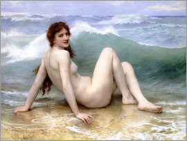 William Adolphe Bouguereau - Die Welle