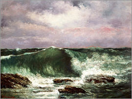 Gustave Courbet - Waves