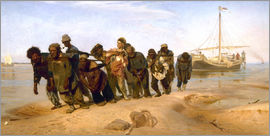 Ilya Efimovich Repin - The Boatmen on the Volga