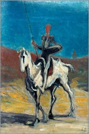 Honoré Daumier - Don Quijote