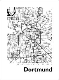 44spaces - Dortmund Stadtplan HF 44spaces