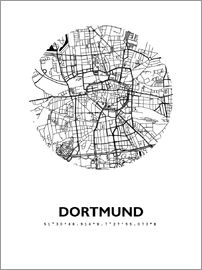 44spaces - Dortmund Stadtplan HFR 44spaces
