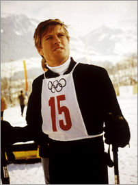 DOWNHILL RACER, Robert Redford