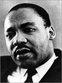 Dr. Martin Luther King Jr. (1929-1968), African American civil rights leader, c. 1960's..