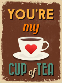 Typobox - You are my lovely cup of tea