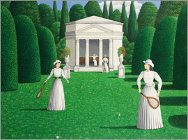 Larry Smart - Edwardian Ladies Playing Tennis