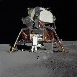 Stocktrek Images - An Apollo 11 astronaut before the Lunar Module