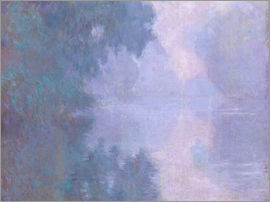 Claude Monet - A Morning on the Seine at Giverny