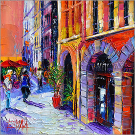 Mona Edulesco - A walk in Old Lyon quarter