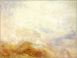 Joseph Mallord William Turner - Eine Bergszene, Val d'Aosta