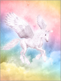 Dolphins DreamDesign - Einhorn Pegasus - Big Dreams