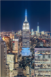 newfrontiers photography - Empire State Building by Night