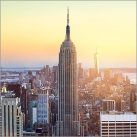 Jan Christopher Becke - Empire State Building in New York City bei Sonnenuntergang