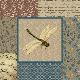 Gail Fraser - English Manor dragonfly