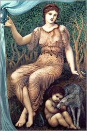 Edward Burne-Jones - Erdmutter