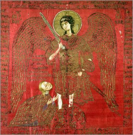 Archangel Michael with Manuel II Palaeologus