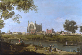 Antonio Canaletto - Eton College Kapelle