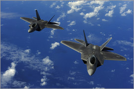 Stocktrek Images - F-22 Raptors