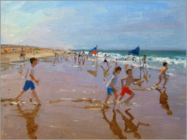 Andrew Macara - Flags and reflections, Montalivet
