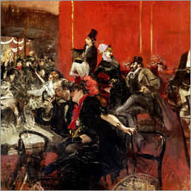 Giovanni Boldini - Celebration at the Cabaret