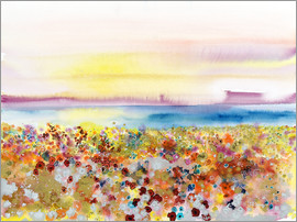 Tara Thelen - Field Of Joy, Abstract Landscape