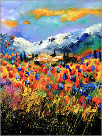 Pol Ledent - Field with wildflowers