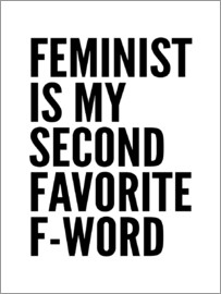 Creative Angel - Feminist is My Second Favorite F Word