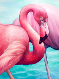 Renate Berghaus - Flamingo