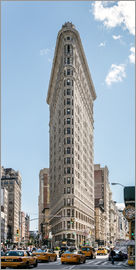 Matteo Colombo - Flatiron Building mit Taxis