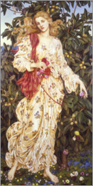 Evelyn De Morgan - Flora, 1894