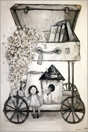 Christin Lamade - Flower-Transport