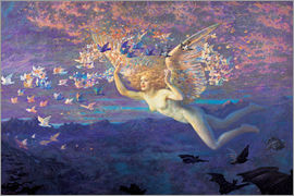 Edward Robert Hughes - Wings of the Morning