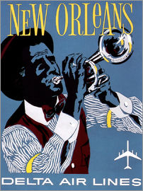 Fly to New Orleans