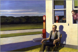 Edward Hopper - Four Lane Road