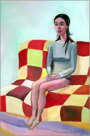 Diego Manuel Rodriguez - Woman on sofa III